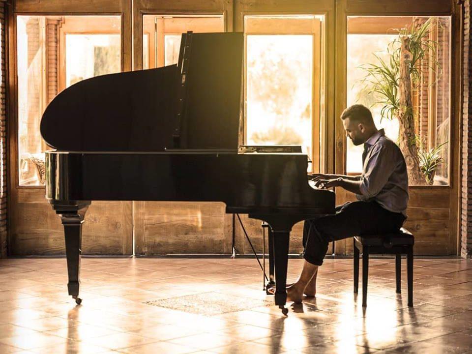 Pianista al pianoforte