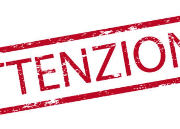 Avviso importante: sospensione concerti marzo 2020