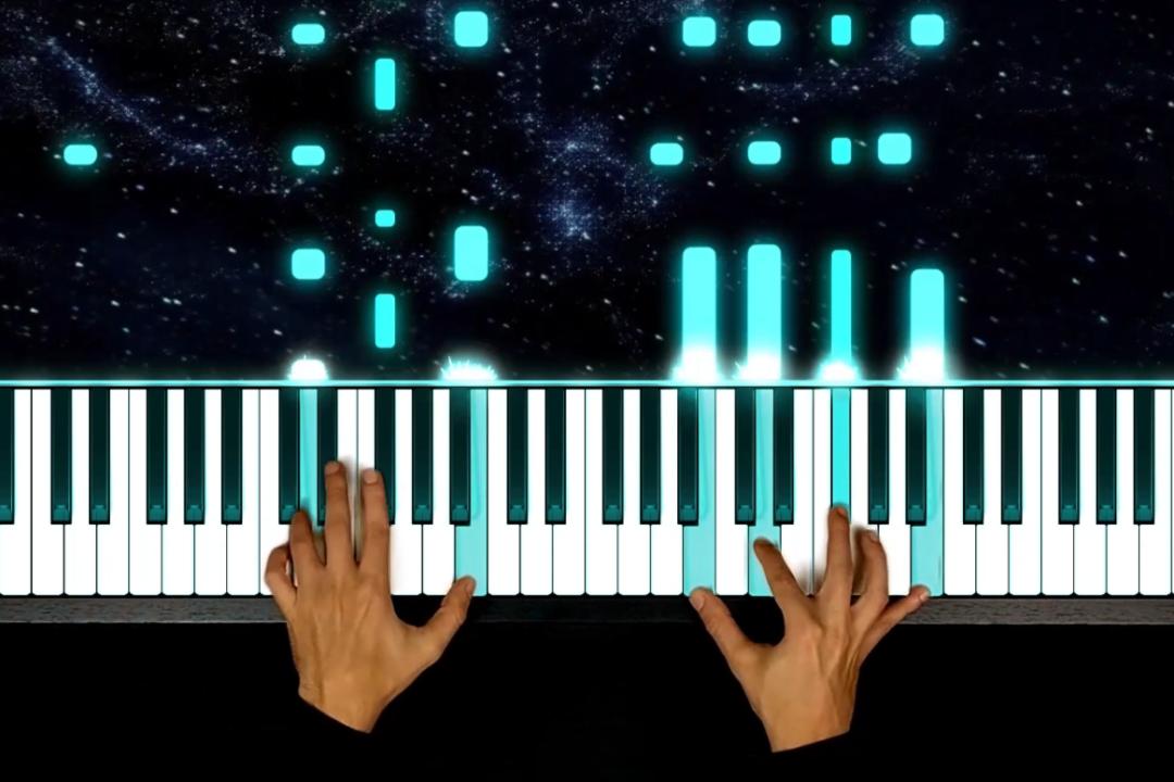 mani al pianoforte